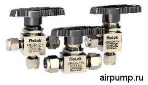 Шаровые краны FloLok ® для систем управления