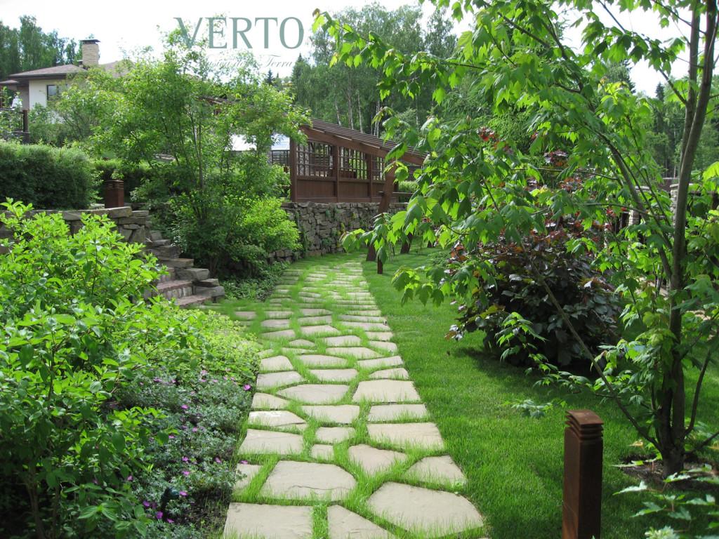 ландшафтный дизайн, благоустройство, verto